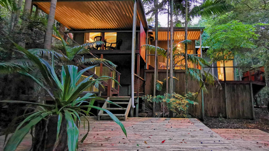 Treetops Montville Rainforest Cabin